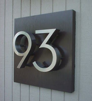 new front door number